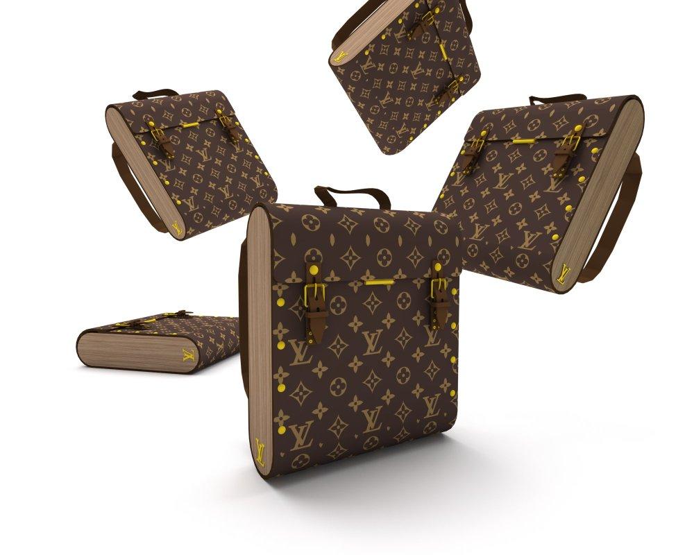 Mochila Bagster Louis Vuitton