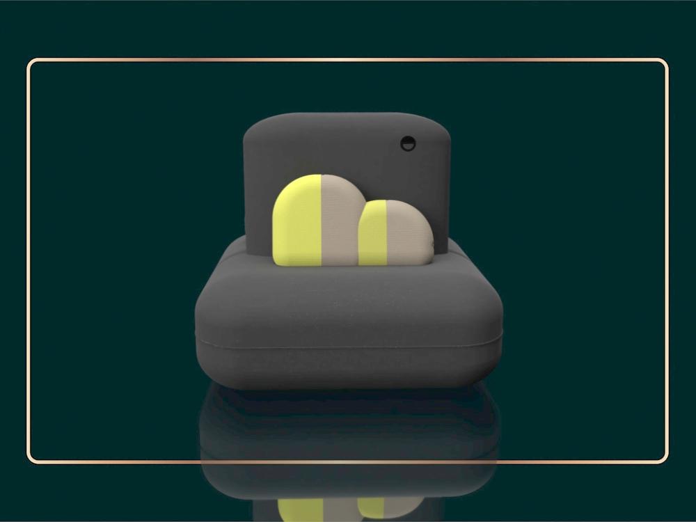ICE-CREAM PUF diseño de mobiliario
