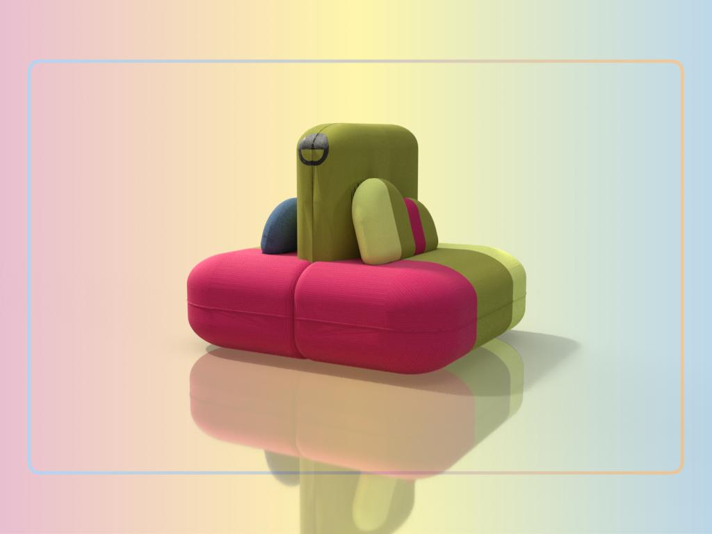 ICE PUF diseño de mobiliario